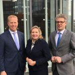 Henning Rehbaum, Simone Wendland, Dr. Stefan Nacke (v.l.n.r.)