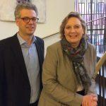Simone Wendland und Dr. Stefan Nacke