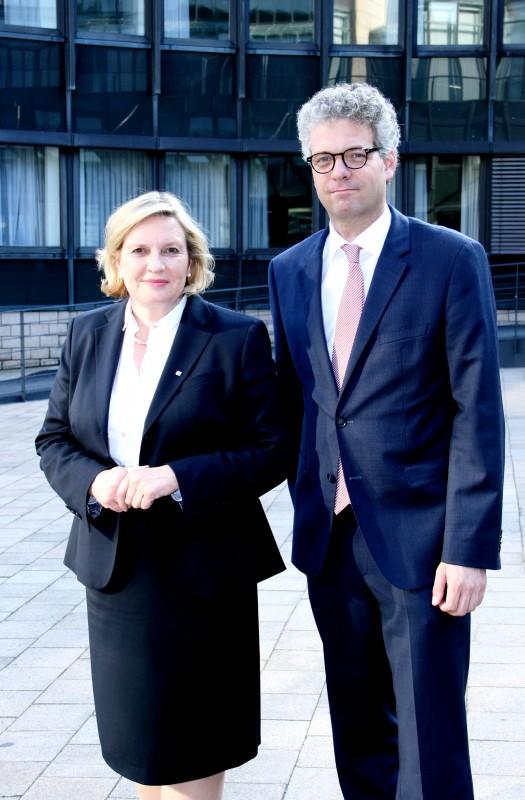 Simone Wendland und Stefan Nacke (v.l.n.r)