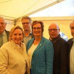 Foto (v.l.n.r.): Laumann, Wendland, Nacke, Benning, Lewe, Rickfelder