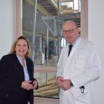 Foto: (v.l.) Simone Wendland MdL, PD Dr. Michael Böswald