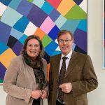 Simone Wendland MdL und NRW-Justizminister Peter Biesenbach