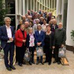 V.l. Dr. Stefan Nacke MdL, Simone Wendland MdL, Besucher der Senioren Union