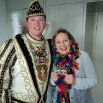Prinz Thomas III. (Traebert) und Simone Wendland MdL.