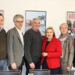 Foto (WLV) v.l.n.r.: Hendrik Lütke Brintrup (WLV), Stefan Nacke MdL, Georg Schulze Dieckhoff (WLV), Simone Wendland MdL, Susanne Schulze Bockeloh (WLV), Sybille Benning MdB