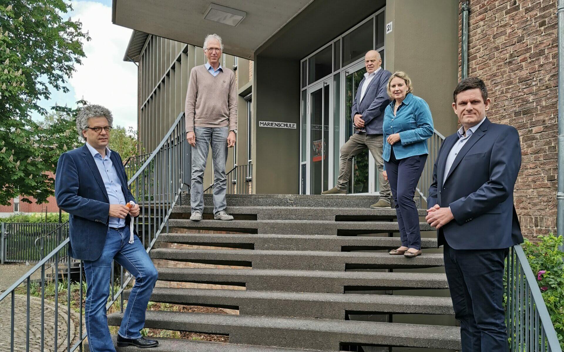 Schule in Coronazeiten - CDU Münster im Gespräch mit der Marienschule