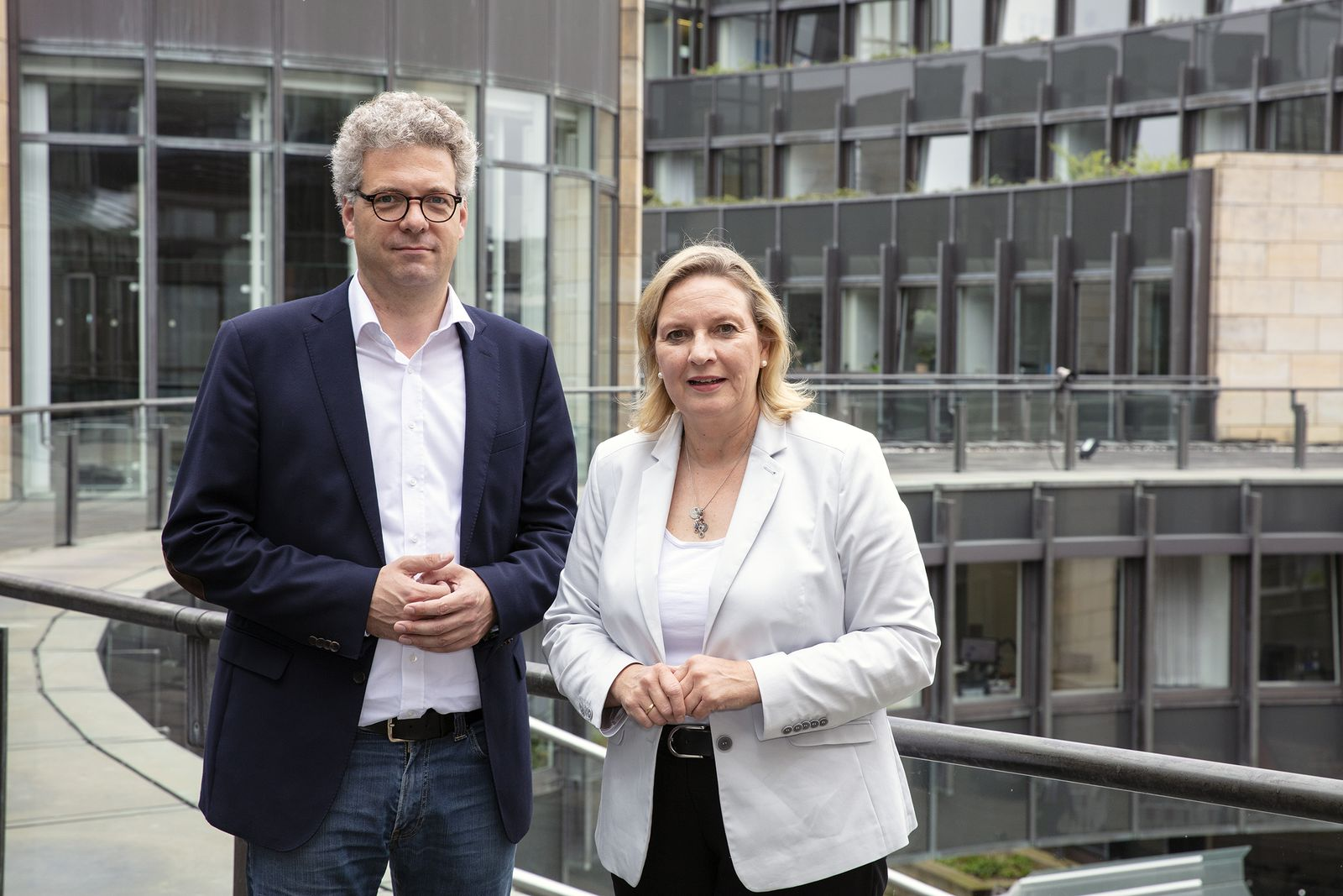 Dr. Stefan Nacke MdL und Simone Wendland MdL