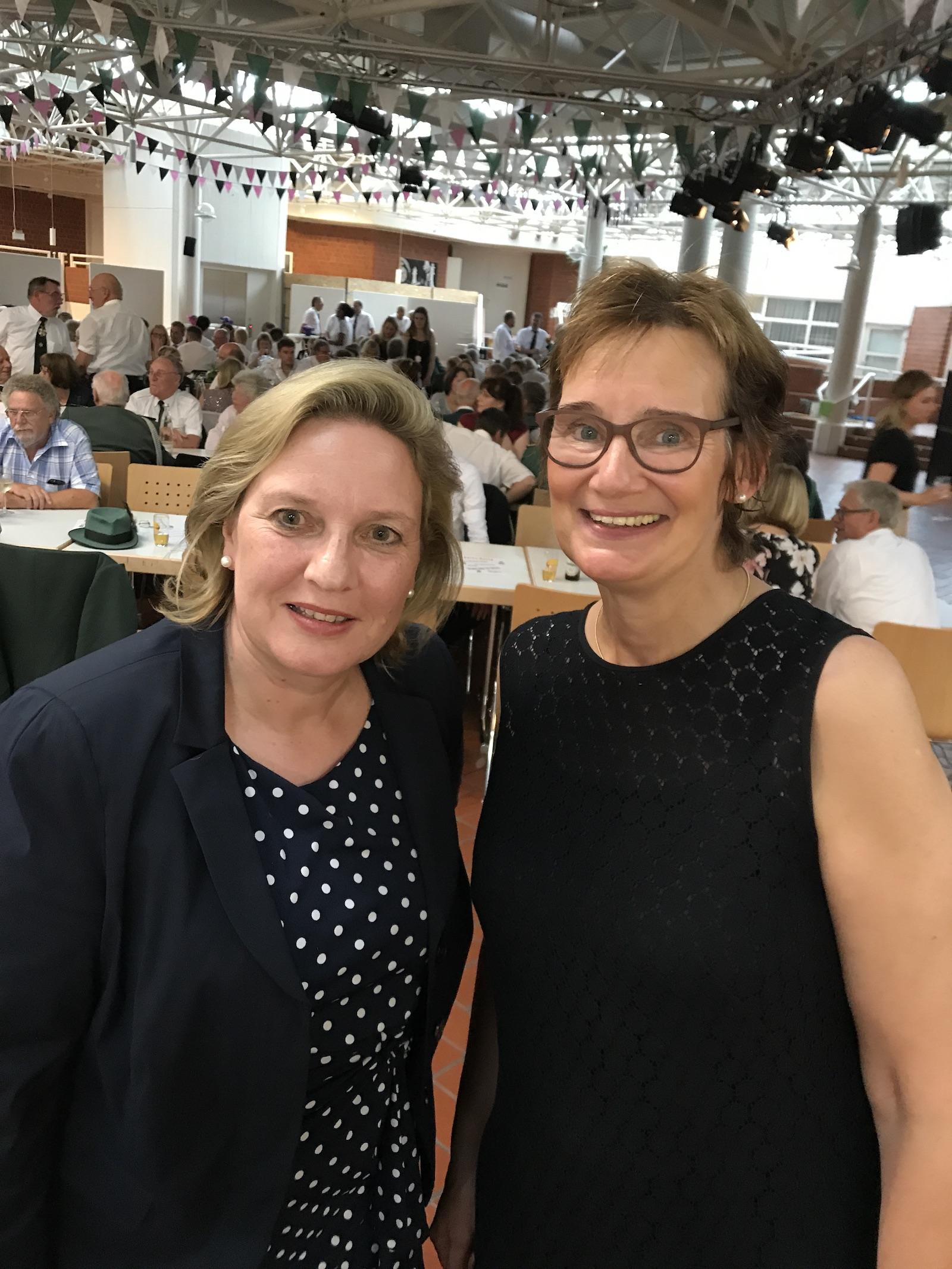 Simone Wendland MdL und Sybille Benning MdB
