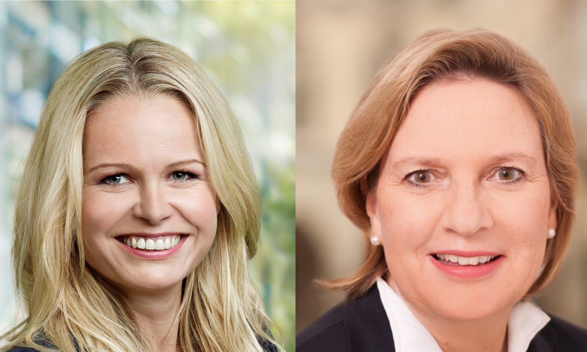 Angela Erwin MdL und Simone Wendland MdL