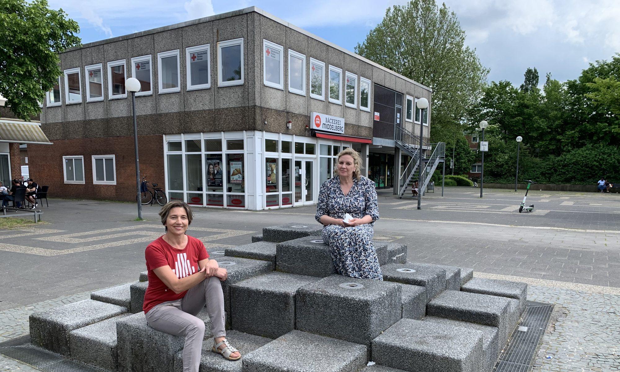 Ratsfrau Jola Vogelberg und Landtagsabgeordnete Simone Wendland