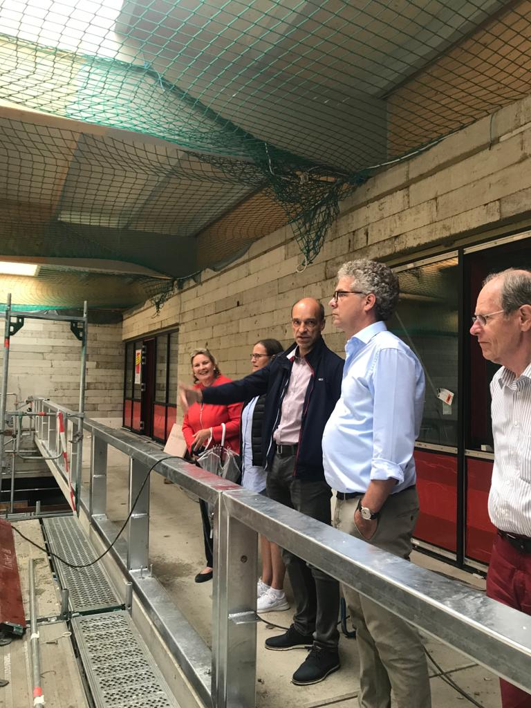 Neubau des TSV Handorf begeistert CDU-Politiker Nacke und Wendland
